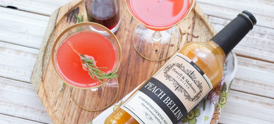 Kimbrough Daniels – Blueberry Peach Bellinis