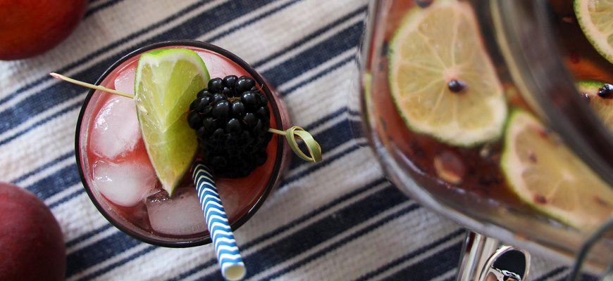 Blackberry Peach Daiquiri