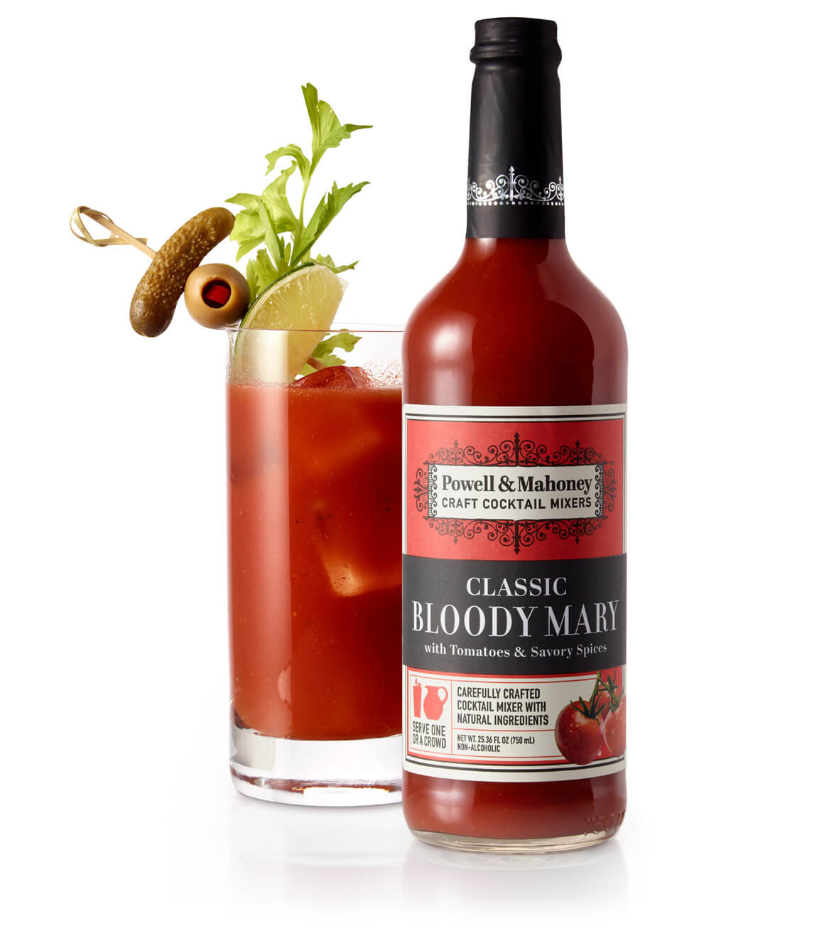 Classic bloody mary powell mahoney craft cocktail mixers for Craft cocktails near me