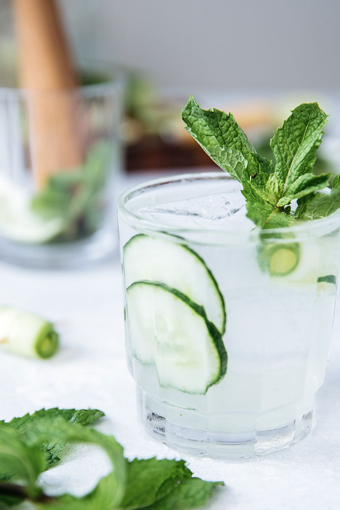The Cucumber Cooler: a refreshing twist on a Gin & Tonic.