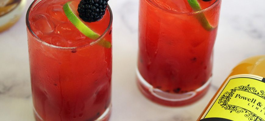 Mango Blackberry Daiquiri