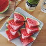 Margarita Watermelon Wedges