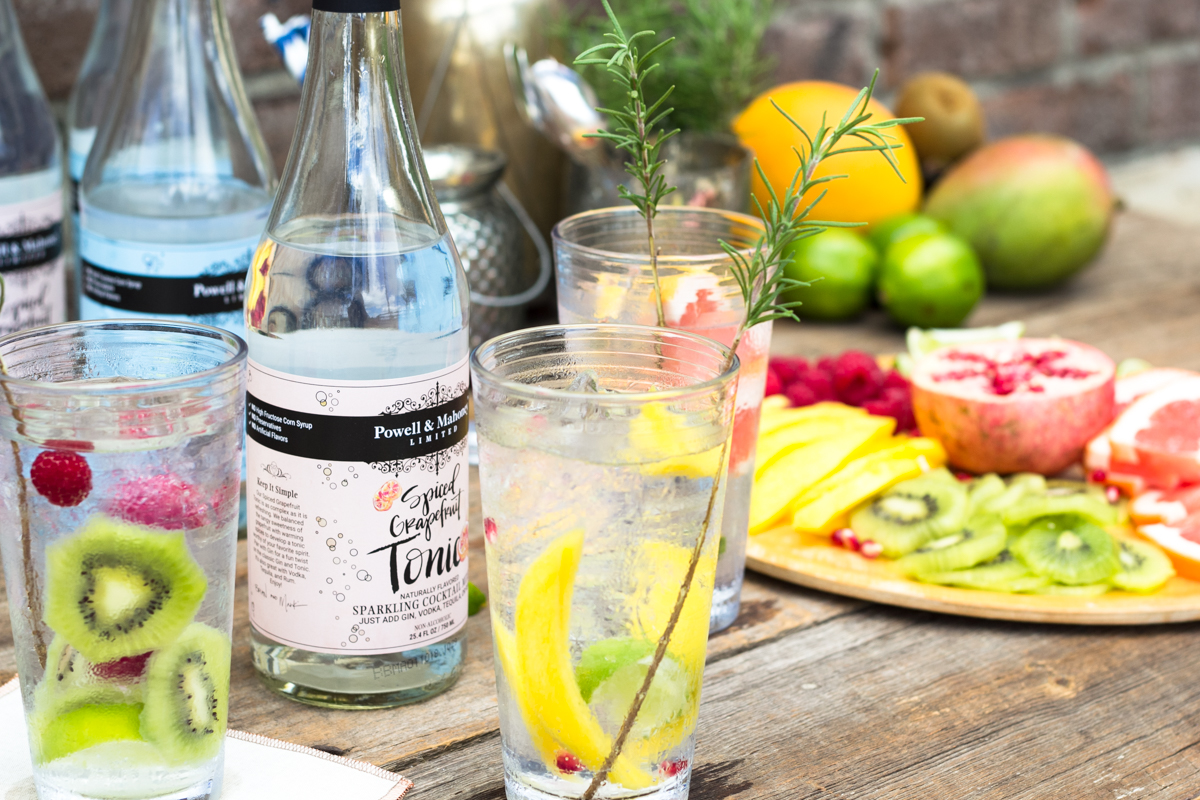 how to make a gin and tonic drink
