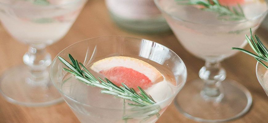 Spiced Grapefruit Gin & Tonic
