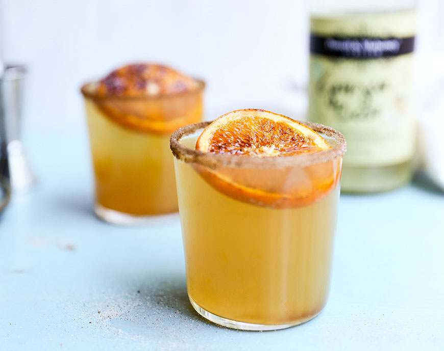 Autumn Dark and Stormy recipe, crafted with P&M Ginger Beer.