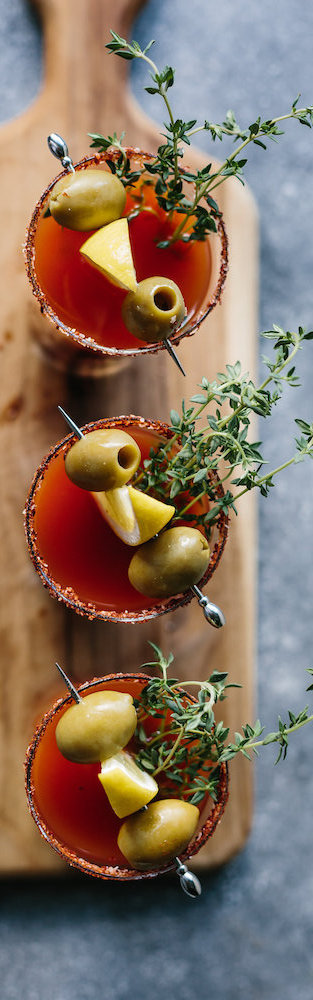 Why stick to vodka when you can try it with gin? This is a must try rendition on a Bloody Mary!