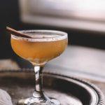 Spiced Pear Brandy Sidecar
