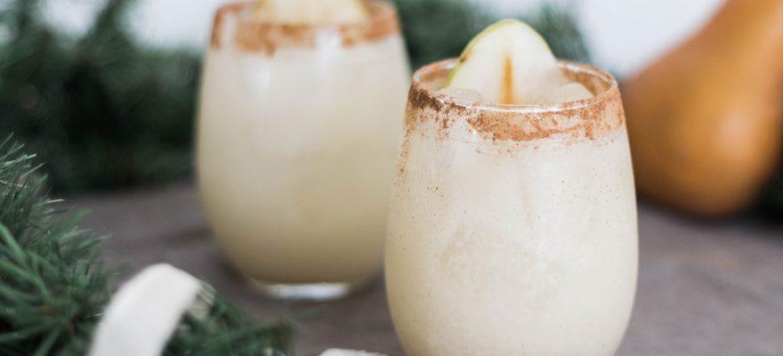 Cinnamon Pear Margarita