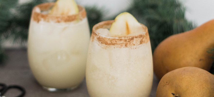 Cinnamon Pear Margarita