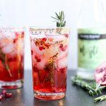 Rosemary Pomegranate Mojito