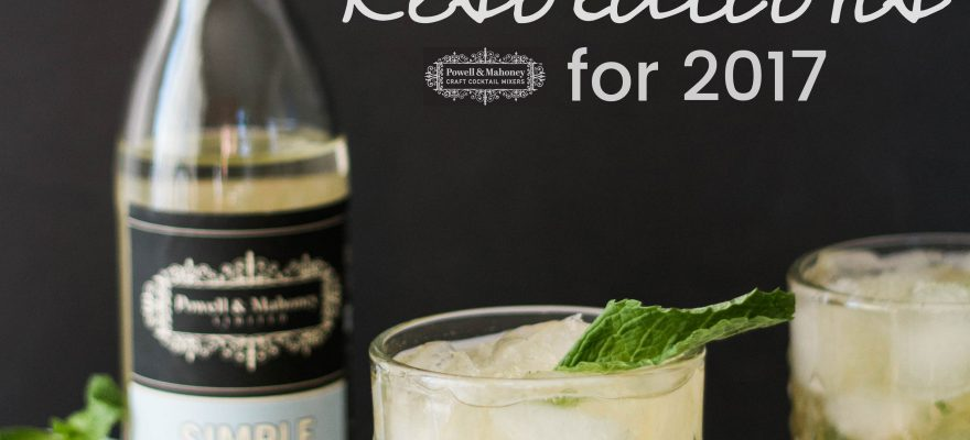 2017 Cocktail Resolutions