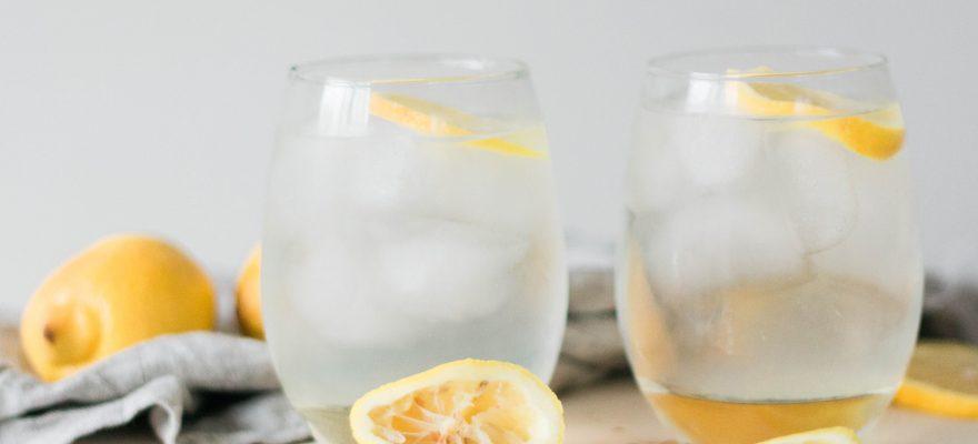 Sparkling Spiked Lemonade