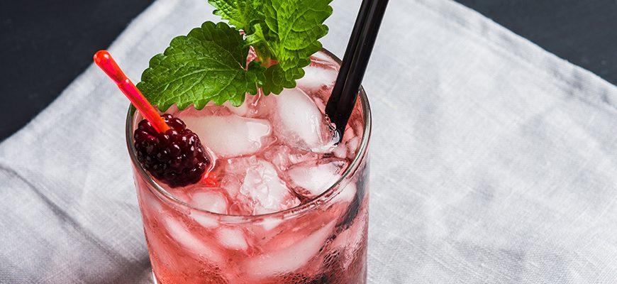 Blackberry Mint Margarita
