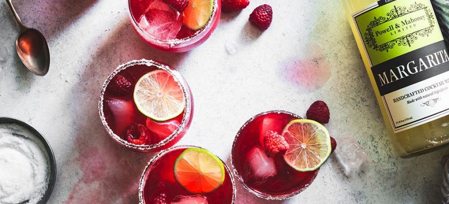 Raspberry Hibiscus Margarita