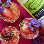 Strawberry Pink Peppercorn Margarita