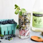 Blueberry Ginger Mojito