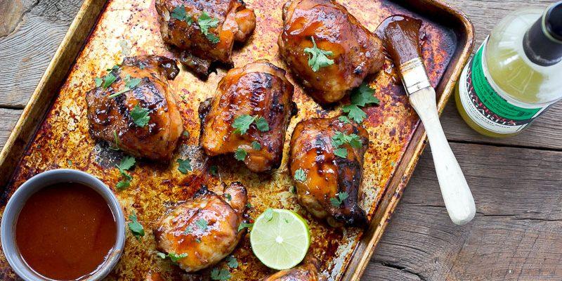 Backyard Grilling with Jalapeño Margarita