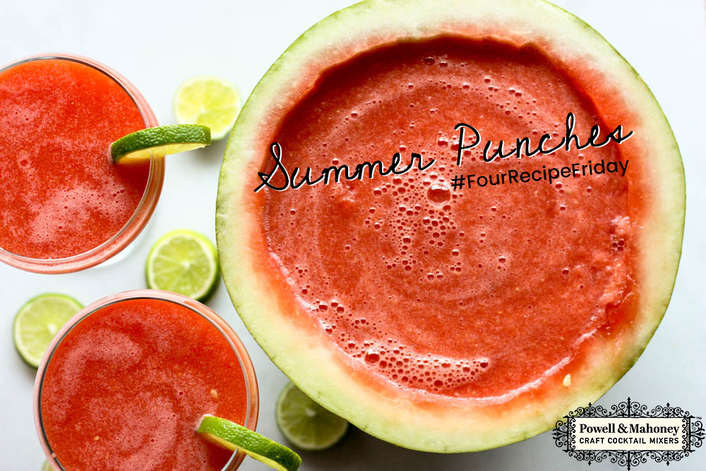 Perfect punch recipes for summer!
