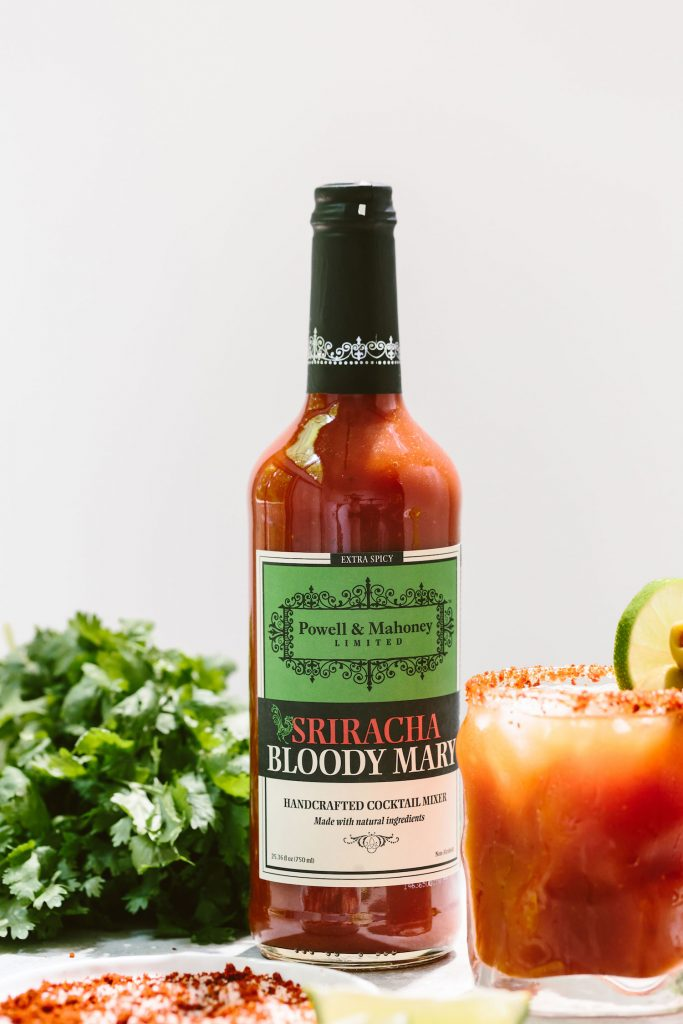 Michelada Cocktail: a refreshing beer cocktail recipe made with Powell & Mahoney Bloody Mary mixers.