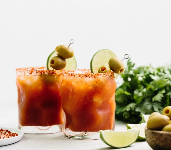 The Michelada Cocktail: a refreshing beer cocktail made simply with your favorite Mexican beer, and P&M Bloody Mary mixer.