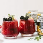Blackberry Ginger Beer Cocktail