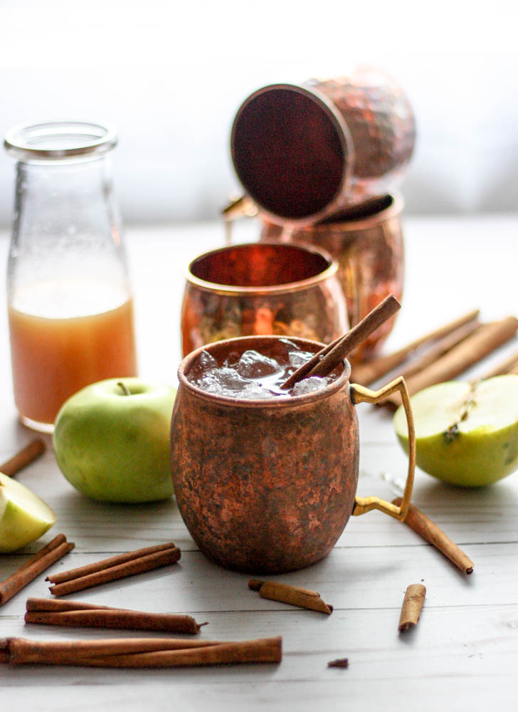This Apple Cider Mule is perfect for fall, and who doesn't love a good mule?