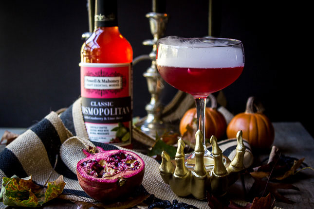 The Vampire's Venom: a Halloween Cocktail that's sure to have your guests screaming for more!