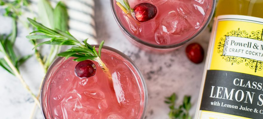Cranberry Pomegranate Citrus Punch
