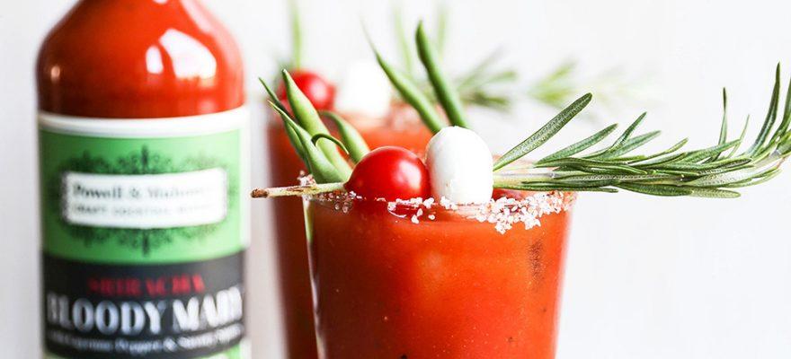 Miso Sriracha Bloody Mary