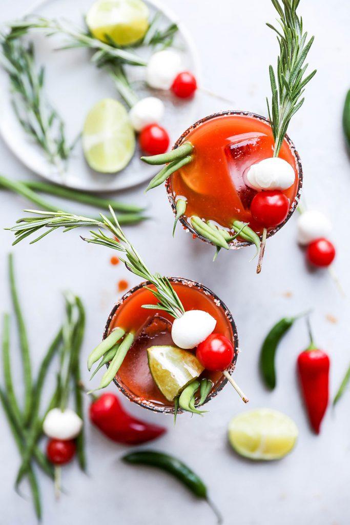 Miso Sriracha Bloody Mary recipe by Powell & Mahoney Craft Cocktail Mixers!