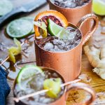 Blood Orange Mule