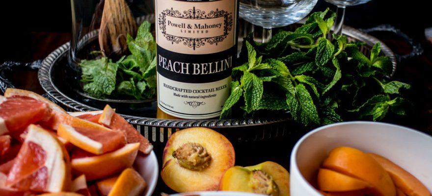 Peach Bellini Sangria