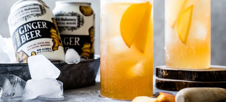 Bourbon Peach Buck