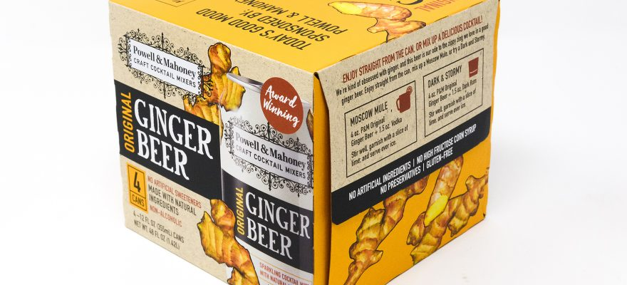 Powell & Mahoney Craft Cocktail Mixers announces packaging refresh