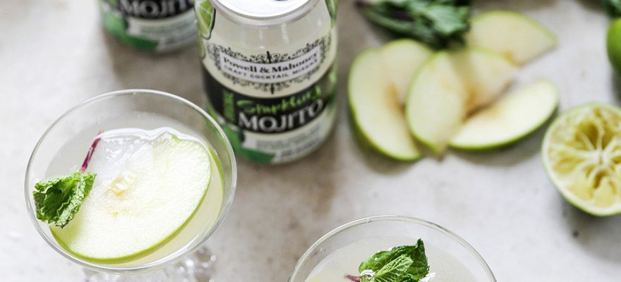 Sparkling Green Apple Mojito