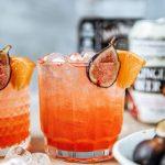 Blood Orange & Fig Fizz