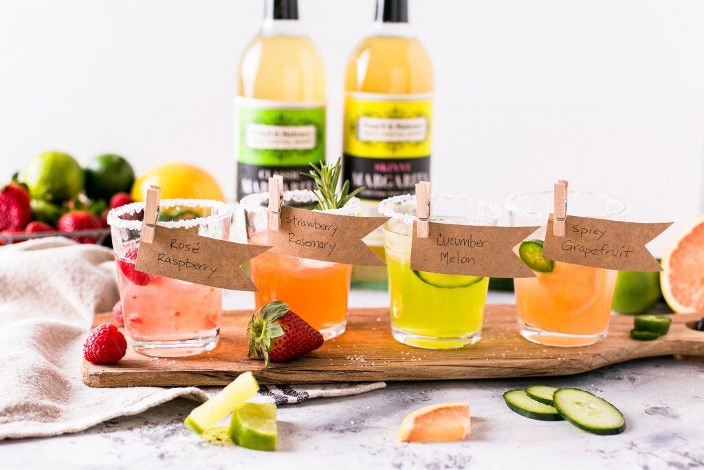 Margarita Flight in a series of National Margarita Day recipes