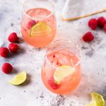 Rosé Raspberry Margarita
