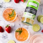 Strawberry Rosemary Margarita