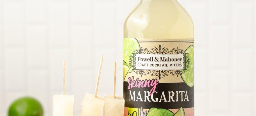 Skinny Margarita Popsicles