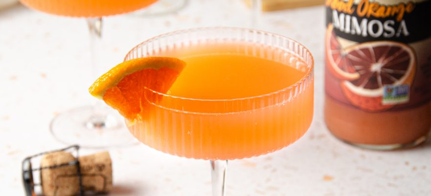 Tequila Blood Orange Mimosa